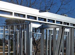 viga cajon o de coronación steel framing metalcon