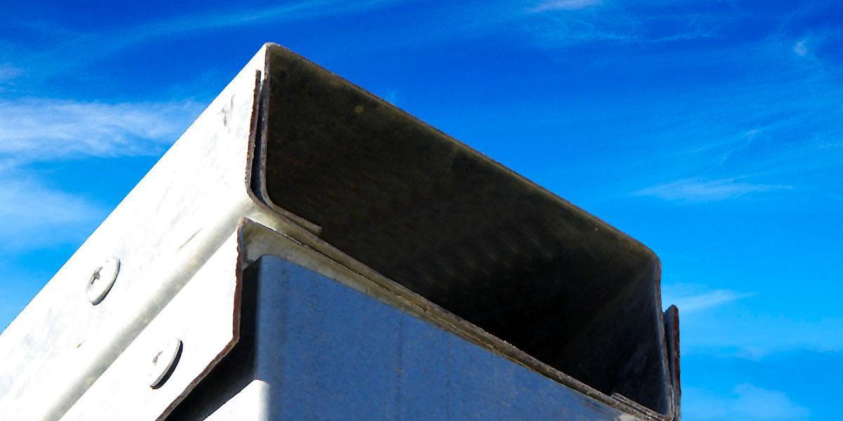 Steel Framing/Metalcon: Vigas de coronación o vigas de cajón